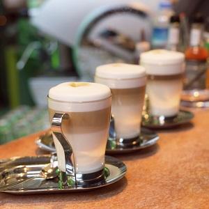 Wedding Reception Food Idea: Hot Chocolate Bar