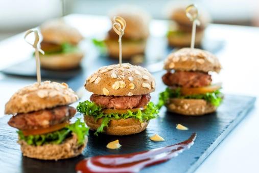 Wedding Reception Food Idea: Mini Appetizers