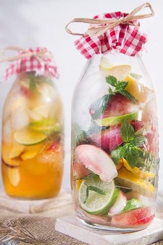 Wedding Reception Food Idea: Infused Tea