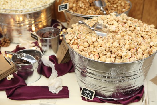 A Fun Way To Commemorate The Occasion Is To Have A Popcorn Bar With Toppings  Like Caramel And Chocolate. Want A Movie To Go With It?