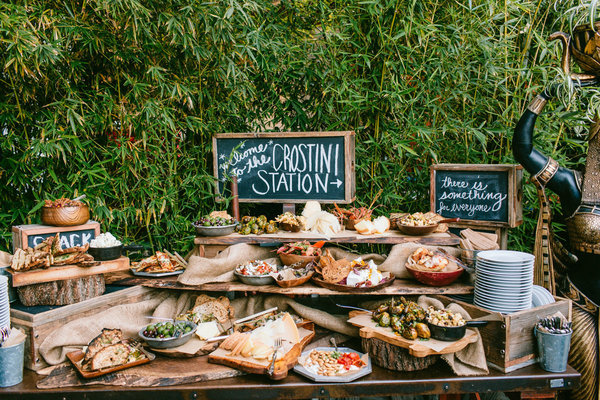 Wedding Buffet Bars You Didn't Know You Needed!